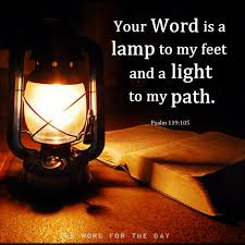 Image result for your word is a lamp unto my feet pictures