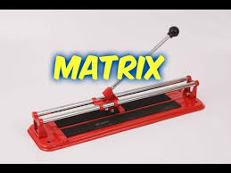 <b>Плиткорез</b> ручной Matrix принцип работы - YouTube