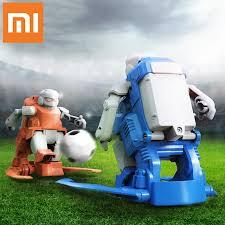 2019 NEW Xiaomi MITU <b>Football Robot Builder</b> DIY Children's Toys ...