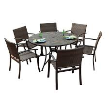 patio table and 6 chairs:  outside table and  chairs