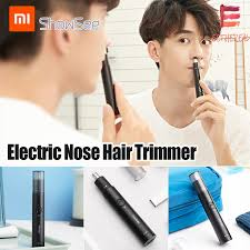 Original Genuine Xiaomi <b>Showsee Electric Mini</b> Nose Hair Trimmer ...
