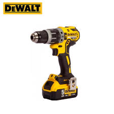 Rechargeable impact drill electric screwdriver <b>DeWalt DCD796P2</b> ...