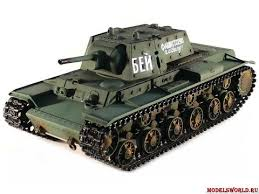 Обзор модели <b>радиоуправляемый танка Taigen Russia</b> KV-1 HC ...