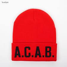 <b>Шапка TRUESPIN Acab</b> (Красный (Red)) - купить по выгодной ...