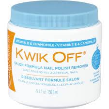 Kwikoff Nail Polish Remover, <b>Salon Formula</b> | Loblaws