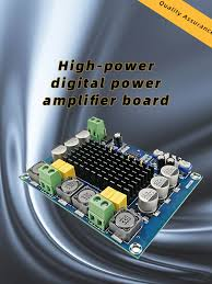 New <b>TPA3116D2 Dual Channel Stereo</b> High Power DC 12-26V ...