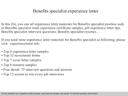 example billing specialist resume        similar results employee benefits  specialists employee benefits