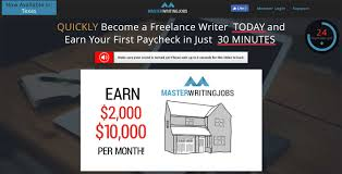 real writing jobs scam why pay for something that s masterwritingjobs review did i say review i meant scam master writing jobs