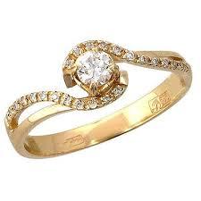 <b>Золотое кольцо Ювелирное изделие</b> 01K635752 | Ювелирные ...