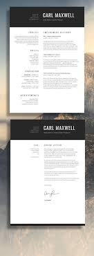 1000 ideas about simple resume format cv design professional resume template cv template resume advice cover letter word mac or pc instant digital fair