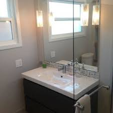 bathroom window vanity mirror pendant lights and glass shower partition bathroom vanity mirror pendant lights glass