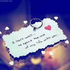 I can't wait to spend the rest of my life quotes cute heart ...