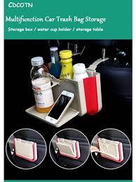 <b>Multifunction Car Trash</b> Bag Storage Hanging Folding Storage Box ...