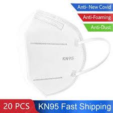 KN95 N95 5-Layer Face Mask FFP2 Protective Mask Safety Masks ...