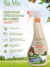 """Экологичное <b>чистящее средство</b> для ванной комнаты """"<b>BioMio</b> ..."""