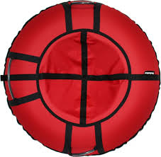 <b>Тюбинг Hubster Хайп</b>, красный, 100 см