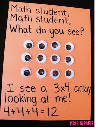 miss giraffe s class how to teach arrays