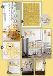 yellow and gray nursery baby nursery yellow grey gender neutral