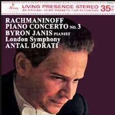 <b>Rachmaninov</b> - Piano Concerto No. 3 : Byron Janis : <b>Antal Dorati</b> ...