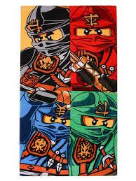 <b>Полотенце</b> детское <b>Lego</b> Ninjago Team, Хлопок — купить в ...