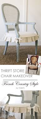 room french style furniture bensof modern: thrift store chair makeover french country style tidbits