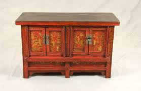 how to paint lacquered furniture. chinese red lacquered low cabinet with gold paintings how to paint furniture