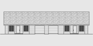 One level duplex house plans  corner lot duplex plans  narrow lotD  One story duplex house plans  bedroom duplex plans  duplex plans
