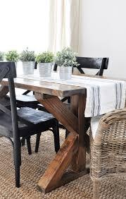 ideas farmhouse table pinterest diy