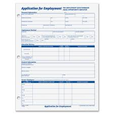 tops employment application forms sheet s gummed  a tops 32851 employment application forms view large image view huge image original