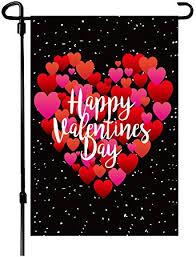 BOUTIQUE_GOODS Valentine's Day Flag, 12.5x18 ... - Amazon.com