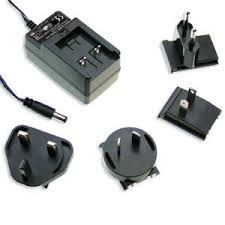 GE12 Series - 10W~<b>15W</b> AC-DC Interchangeable Plugtop <b>AC Adapter</b>