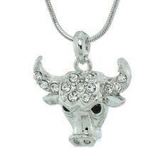Рог с серебряным покрытием серебра моды ожерелья и подвески