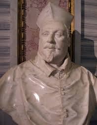 two busts of cardinal scipione borghese first version