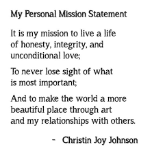 mission statements good videos and student  personal mission statement lt3
