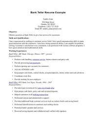 job objective samples for resume job objectives job  moresume coresume  career objectives examples resume for bank teller resume
