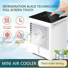 <b>Air Conditioner</b> Fan <b>Mini</b> Cool Bedroom Desk Portable Cooler Cube ...