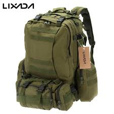 Free Shipping Lixada <b>50L Outdoor Military</b> Molle <b>Tactical</b> Backpack ...