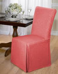 Red Dining Room Chair Covers Cotton Dining Chair Cover Chambray Back Tie Dining Room Blue Ebay