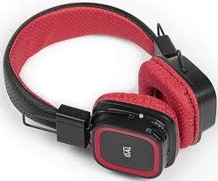 <b>Наушники Gal BH-2009 накладные</b> black-red