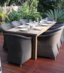 rattan wicker patio outdoor dining