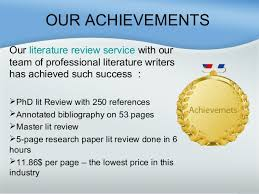 Literature Review Assignments     SlideShare