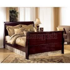 janel sleigh bed queen ashley furniture bedroom photo 2