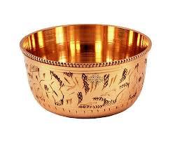 <b>Gold Handmade Antique</b> Round Brass Bowls Restaurant Home ...