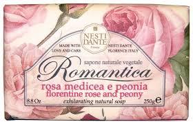 <b>Мыло</b> кусковое Nesti Dante <b>Romantica Florentine Rose</b> and Peony ...