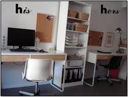 ikea micke desk idea x 2 chic ikea micke desk white