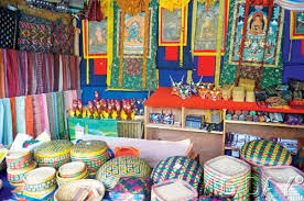 Image result for bhutan Handicrafts shops:
