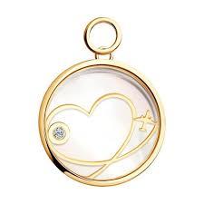 <b>Золотая подвеска Charm</b> «<b>Любовь</b>» | Jewelry catalog, Moon ...