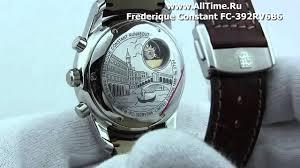 <b>Мужские</b> наручные швейцарские <b>часы Frederique Constant</b> FC ...