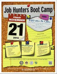 speaking kieler career consulting for more information on the job hunters boot camp please click on the flyer below