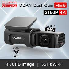 <b>DDPai</b> דאש מצלמת <b>Mini5 4K 2160P</b> UHD DVR רכב מצלמה אנדרואיד ...